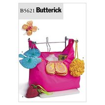 BUTTERICK PATTERNS B5621 Market Bag, One Size Only - $5.82