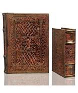Book Box Set Celtic Eternal Knot Decorative Secret Stash Chest - $45.53