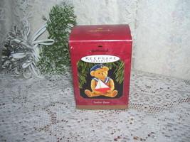 HALLMARK CHRISTMAS ORNAMENT SAILOR BEAR 1997 - $15.98