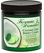 Keyano Aromatics Coconut Lime Butter Cream 8 oz. - $24.00