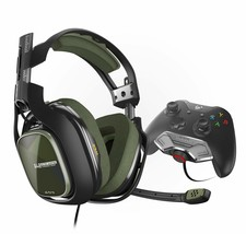ASTRO Gaming A40 TR Headset + MixAmp M80 - Black/Olive - Xbox One (2017 ... - $119.39