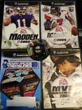 Gamecube Game Lot - MLB 2K6.Madden 2002,Madden 2004 and MORE - $19.79