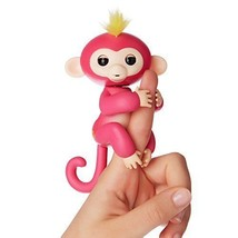 PINK BELLA - FINGERLINGS Interactive Finger Pet Baby Monkey REAL FINGERL... - $35.65