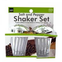 Crystal Look Salt & Pepper Shaker Set HX186 SSW-KL17274 - $44.71