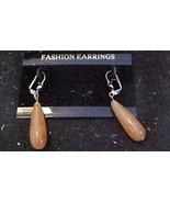 large Tear Drop Earring - Pierced Ears - $3.00