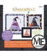 Kimberbell KD631 Witch Hat - Machine Embroider by Number - $14.80