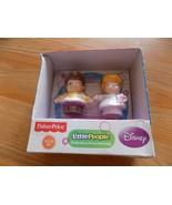 Fisher Price Little People Disney Princess Cinderella & Prince Charming ... - $14.00