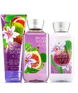Bath & Body Works Brown Sugar & Fig Trinity Gift Set  - $44.98