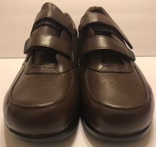 Proper Walking Strap On Two Brown Wide Walk Sz Vista Leather Slip XX Shoes 12 rxtXrPwp