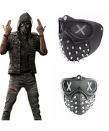 Watch Dogs 2 Deadsec Aiden Pearce Wrenc Cosplay Mask Half Face Mouth-Muf... - £27.13 GBP