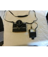 Vintage Canon AE-1 35mm SLR Film Camera with FD 50 mm lens, Flash, Power... - $556.88