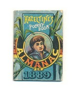 E. T. Hazeltine's Children's Pocketbook Mini-Almanac for 1889, Piso's Cu... - $45.00