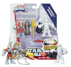 Star Wars Galactic Heroes Luke Skywalker & Snowtrooper New in Box - $11.88