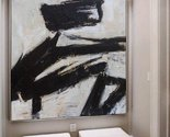 Black white abstract art large canvas oil painting art thumb155 crop