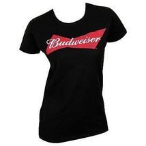 Budweiser Women's Tee Shirt Black - $29.98