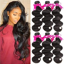 Beauty Princess 8A Brazilian Virgin Hair Body Wave 3 Bundles Unprocessed Human H