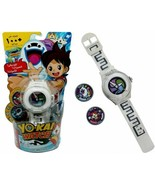 Yokai Electronic Music Phrases Sounds Season 1 Watch with 2 Medals - $9.47