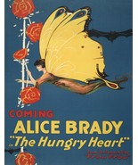 Wall Decor Poster.Home Room art dorm design.Hungry heart fairy butterfly... - $10.89+
