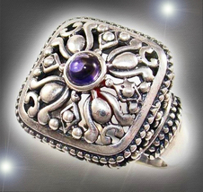 Haunted Ring 7 Wizards Witch Spirits Highest Order Of Witches Magick Collection - $707.00