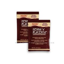 Hask Henna N Placenta Conditioning Treatment 2oz , Strengthens & Repairs... - $9.89