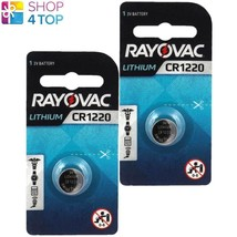 2 Rayovac CR1220 Lithium Battery 3V Cell Coin Button Watch Exp 2023 38 M Ah New - $4.90