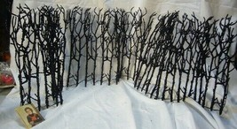 Bethany Lowe Halloween Spooky Haunted  Twig or Snowy Winter Fence image 1