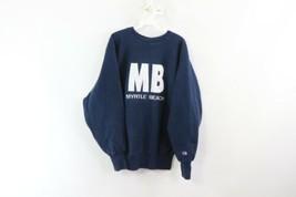Vintage 90s Champion Reverse Weave Mens XL Myrtle Beach Crewneck Sweatsh... - $49.45
