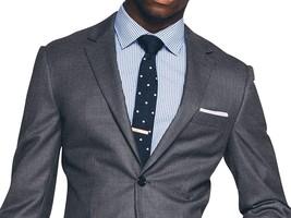 Men's Classic Lapel Style Gray 2 Piece Slimfit Suit image 1