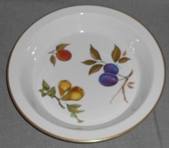 Royal Worcester EVESHAM GOLD PATTERN Pie Serving/Baking Pan MADE IN ENGLAND - $15.83