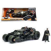 2008 The Dark Knight Tumbler with diecast Batman Figure 1/24 Diecast Mod... - $52.98