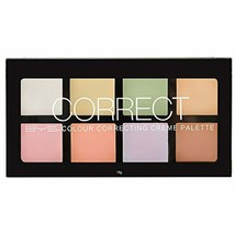 BYS Women's 8-Color Corrector, Concealer and Contour Palette Cream for A... - $11.99