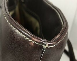 Piel Dark Brown Leather Tote Bag Hand Made In Colombia image 9
