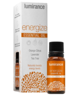 LUMIRANCE Energize Essential Oil Orange Citrus/lavender/ Tea Tree .33 F... - $15.99