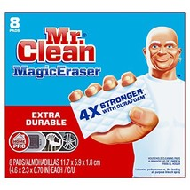 Mr Clean Magic Eraser Extra Durable, Cleaning Pads with Durafoam, 8 Coun... - $8.24