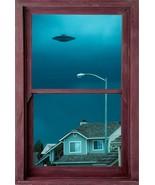 UFO WINDOW POSTER - 24x36 ALIENS  - $18.00