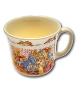 Royal Doulton Bunnykins 1936 Christening Mug Baby Mum Crib Vintage Porce... - $39.99