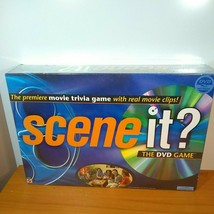 MATTEL SCENE IT? Movie Trivia The DVD Game 2003 Real Movie Clips! SEALED... - $15.59