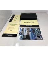 2007 Hyundai Sonata Owners Manual Warranty Guide More Books with Case OEM - $22.07