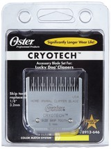 "Genuine OSTER Blade Lucky Dog Skip Tooth 913-64 Cryotech1/8"" 3.2mm - $34.95"