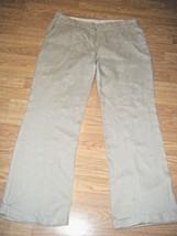 WILLI SMITH BEIGE LINEN PANTS SIZE 14 - $19.34