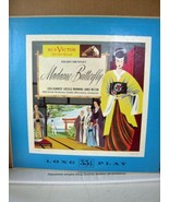 "RCA Victor Orch Highlights from Puccini's Madame Butterfly LM2, 10""/33RP... - $17.99"