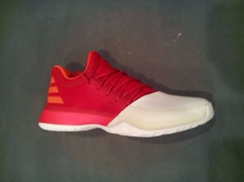 Adidas Boost James Harden Vol. 1 Basketball Shoes Red White (BY3483) - $49.00