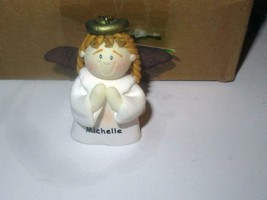 CHRISTMAS ORNAMENTS WHOLESALE- LITTLE ANGELS- 'MICHELLE' -  (6) - NEW -S1 - $5.83