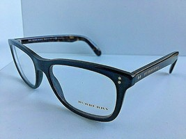 New BURBERRY B 1222-F 5435 54mm Black Rectangular Rx Eyeglasses Frame #1 - $129.99