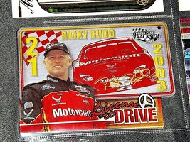 NASCAR Trading Cards - Ricky Rudd AA19-NC8083 image 8