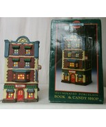 MEMORIES COLLECTION ILLUMINATED PORCELAIN Book & Candy Shop  - $24.74