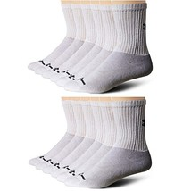 Under Armour Men's Charged Cotton Crew Socks - 12 Pairs (2-pk (12 pair) ... - $48.69
