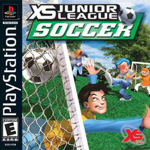 XS Jr. League Soccer PS1 Great Condition Condition Complete Fast Shipping - $8.94