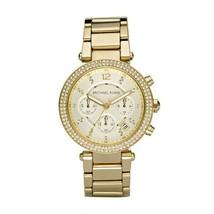Michael Kors Women's Watch Ladies Stainless Steel Bracelet MK5354 Golden - $261.00