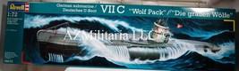 "Revell 1:72 Scale Revell German Submarine U-Boot VII C ""Wolf Pack"" Kit Nr. 05015 - $139.99"